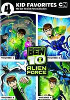 4 Kid Favorites: The Ben 10 Alien Force Collection (DVD, 2012, 4-Disc Set)