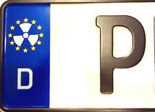 2x Kennzeichen Sticker Nummernschild Aufkleber EU Radioaktiv Biohazard Wacken