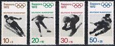 684-687  ** ,  Einzelmarken Block 6, BRD 1971