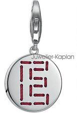 Esprit Damen Charm ES-Letter Fabric E ESCH91127A000 925 Silber neu