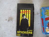 RARE 1984 Nightmare on Elm Street Full Box 48 Pks LOOK