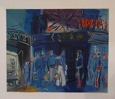 Raoul Dufy lithographie Réception amiral anglais Mourlot Pierre Lévy 1969 p 417