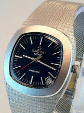 Stunning Eterna Sonic Electric 95g x 18k Solid White Gold Immaculate Cond. NOS