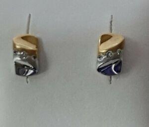 18ct Gold Diamond Studs 86202