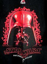 NWOT Philadelphia Phillies Star Wars night Majestic shirt Black sze XL-Vader MLB