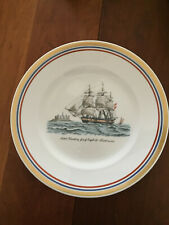"Royal Copenhagen decorative 10"" diameter plate, Skibet Kronborg"