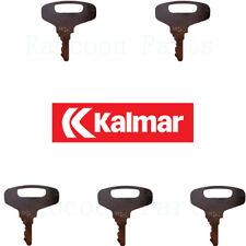 5 Kalmar Ac Forklift Ignition Keys Amp Also Fits Lay Mor Tennant Sweepmaster Key