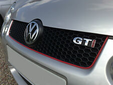 VW Polo GTI Grill Trim - VW Lupo GTI Grill Trim - RED STRIPE - THE BEST QUALITY