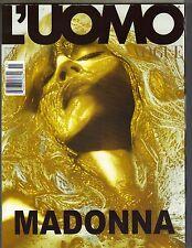 MADONNA Italian L'uomo Vogue Magazine 11/05 STEVEN KLEIN PC