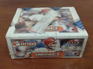 2000 SKYBOX IMPACT Factory Sealed Football BOX Tom Brady Rookie RC Autographics