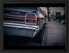 1969 CHEVROLET CHEVELLE MALIBU NEW A3 FRAMED PHOTOGRAPHIC PRINT POSTER