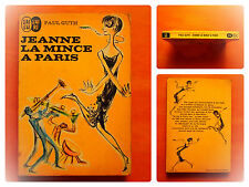 Jeanne la mince à Paris -Paul Guth -J'Ai Lu N° 258