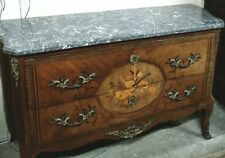 commode décor bronze dessus marbre chest of drawers bronze decor marble top