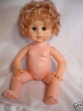 """13"""" Vintage Eegee Drink Wet Open Shut Eye Doll"""