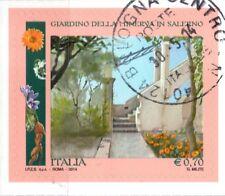 2014 Italia Repubblica Parchi e giardini di Salerno usata