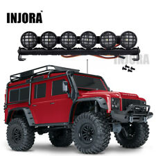 LED Light Bar Aluminum For RC Car Crawler 1/8 1/10 Axial SCX10 D90 TRX4 5 Modes