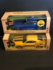 CHEVY CAMERO AND FORD MUSTANG SIGNATURE EDITION RC 27/49 MHZ SCALE 1:14 NEW!!!
