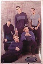 "Backstreet Boys Group vintage poster 22.25"" X 34.50 Nos (b447)"