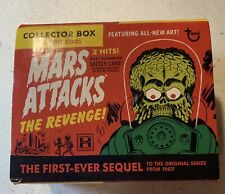 Mars Attack Topps Cards Opened