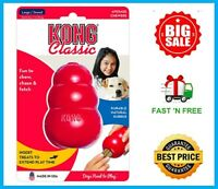 Kong Classic Dog Toy Rubber Chew - Large/Red - T1 Free&Fast Shipping