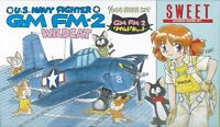 Sweet Aviation 03 U.S. Navy Fighter GM FM-2 Wild Cat 1/144 Scale Kit