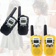 4pcs Kinder Retevis RT-388Walkie Talkie UHF 0.5W LCD Display PMR  Funkgeräte