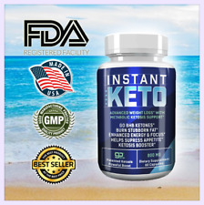 INSTANT KETO, HELPS SUPRESS APPETITE, KETOSIS BOOSTER, WEIGHT LOSS SUPPORT