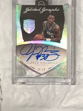 Alonzo Mourning Eminence 4/10 Auto Gilded Graphs