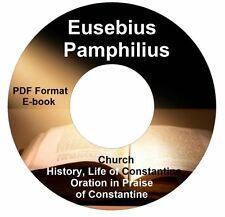 Eusebius Pamphilius Church History PDF E-book New CD Life of Constantine