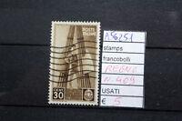FRANCOBOLLI ITALIA REGNO USATI N. 409 (A56251)