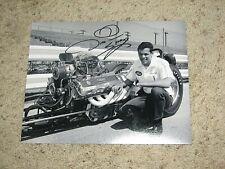 DON PRUDHOMME SIGNED 8X10 PHOTO coa NHRA DRAG RACER