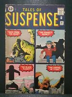 Tales Of Suspense #28 Marvel Comics Apr 1962 Pre-hero Age VG prototype Stone Men