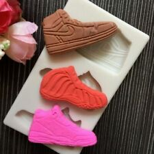 Chocolate Silicone Mold DIY Sneakers Shaped Candy Biscuit Fondant Cake