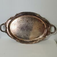 Vintage Reed And Barton Silverplate Platter 1820 22