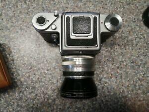 Pentacon Praktisix Medium Format Film Camera with Biometar 80/2.8 Lens