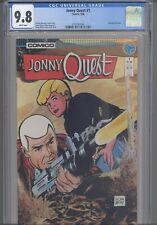 Jonny Quest #1 CGC 9.8 1986 Comico Wraparound Cover New Frame