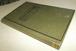 Vtg 1920 Textiles and Clothing Book - GR8 Narrative & Photo Illustrations