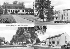 AK, Groß Kreutz Kr. Potsdam, vier Abb., 1980
