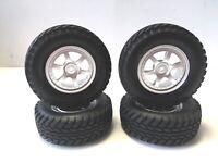 Tamiya 1:10 Reifen- Felgen Set (4 Stück) für CC-01 auf ISUZU Felge