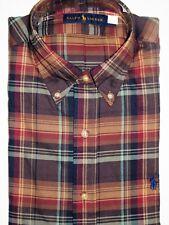 Ralph Lauren men's plaid shirt size small