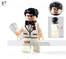 Bruce Wayne Batman Movie custom minifigure Fits Lego - TRUSTED UK SELLER