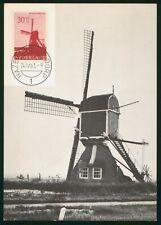 Mayfairstamps Netherlands 1963 Windmill Maximum Hazerswoude Postcard wwr_11385