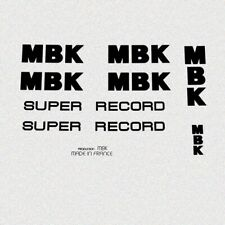 MBK Super Record Bicycle Decals, Stickers n.902