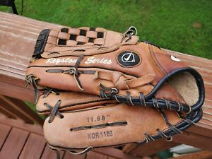 Nike Keystone Series 11' Lefty  Baseball Glove  RH For LH Thrower Black KDR1103