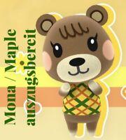 Animal Crossing New Horizons 🤎Bewohner MONA / MAPLE🤎auszugsbereit