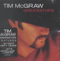 TIM MCGRAW - GREATEST HITS NEW CD