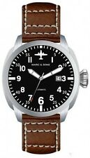 MARC & SONS automatic watch mechanical pilot aviator watch Miyota 9015 MSF-005-B