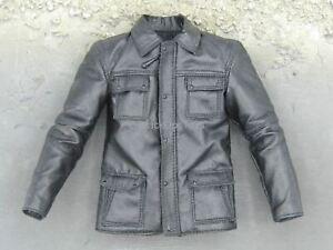 1/6 Scale Toy Taken - Black Leather Like Jacket
