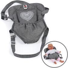 Bayer Chic 2000 782 76 Puppen-tragegurt Jeans Grey