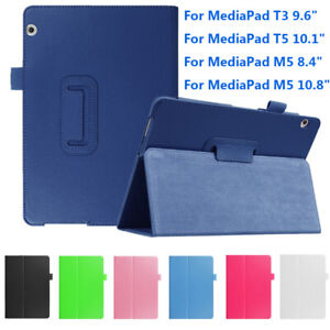 Shell Funda Smart Case Tablet Cover For Huawei MediaPad M5 8.4/10.8 T3 T5 10